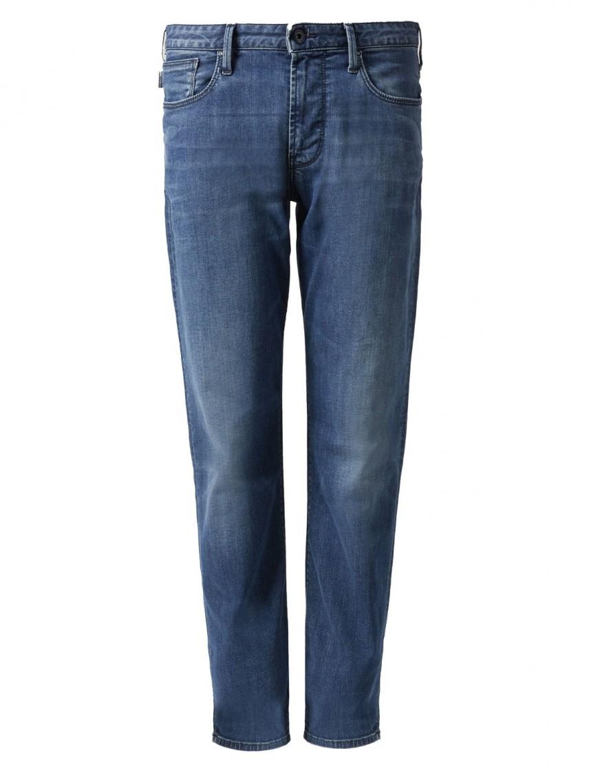 the best attitude 4664c 46372 Jeans Uomo Emporio Armani J06 Slim Fit con vita normale - A6Z1J06T1D19Z0942